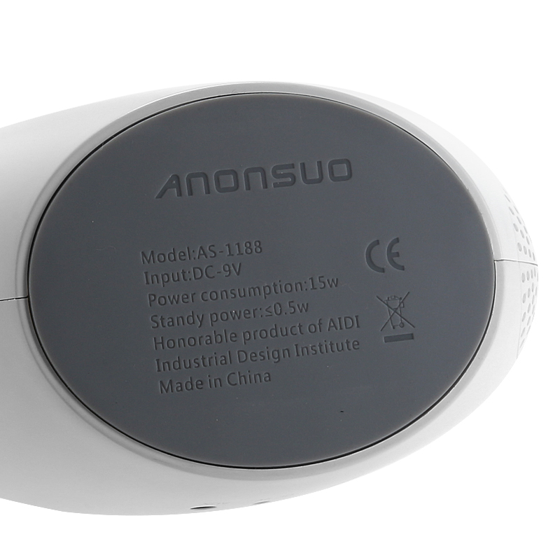 Anonsuo Bluetooth Speaker And Nightlight - 2x5 Watt, 1500 Lumen, BT 4.0, CSR 4.0 Chipset, LED Lamp, Touch Control
