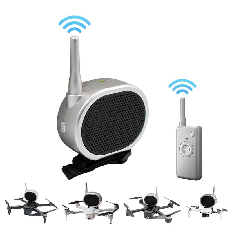 Drone Parts Accessories Loudspeaker for Drone GW90 Mavic PRO Mavic Mini Mavic Air Phantom 4 Phantom 3 X193 SG906 SG907 F11 E520 Megaphone