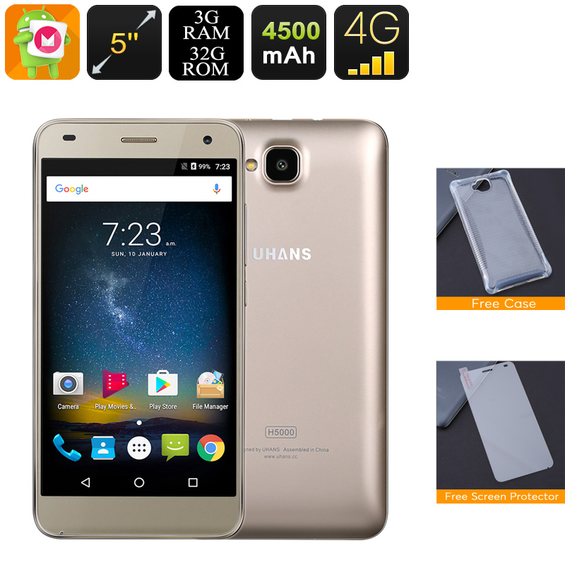 Android Phone Uhans H5000 (Gold)