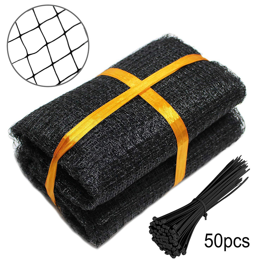Protective  Net Bird Deer Repellent Netting Fence Net For Garden Farm Pond 2.1*10M (with 20 cable ties)