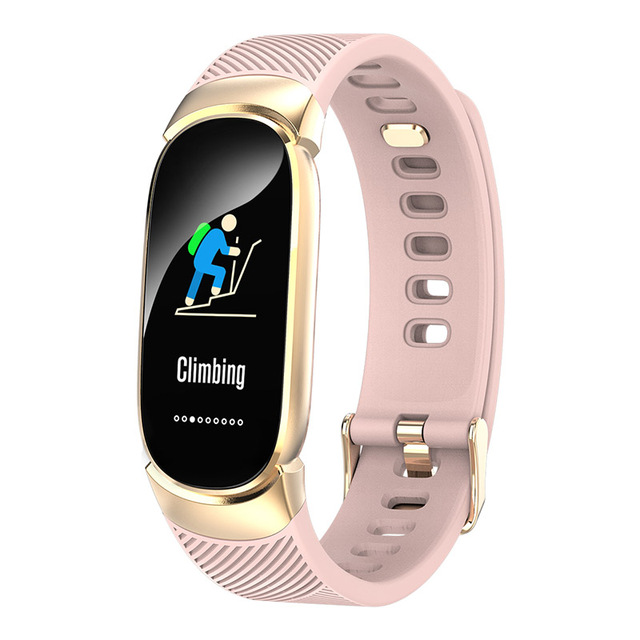 Women Smart Watch Phone Fitness Tracker for Android/iPhone/Samsung/HTC Pink