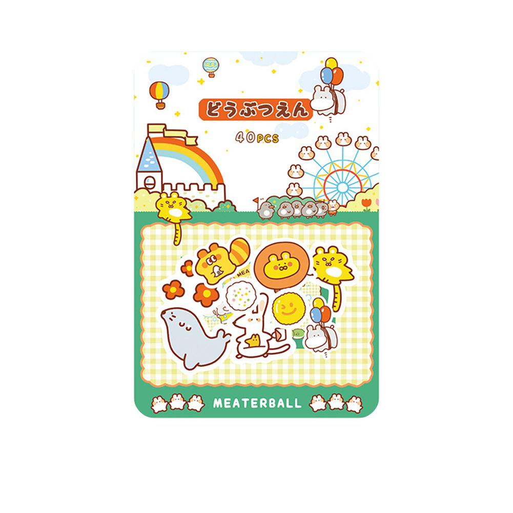 Cute Label Diary Handmade Adhesive Paper Sticker Scrapbooking Stationery Decor Sticker 2#