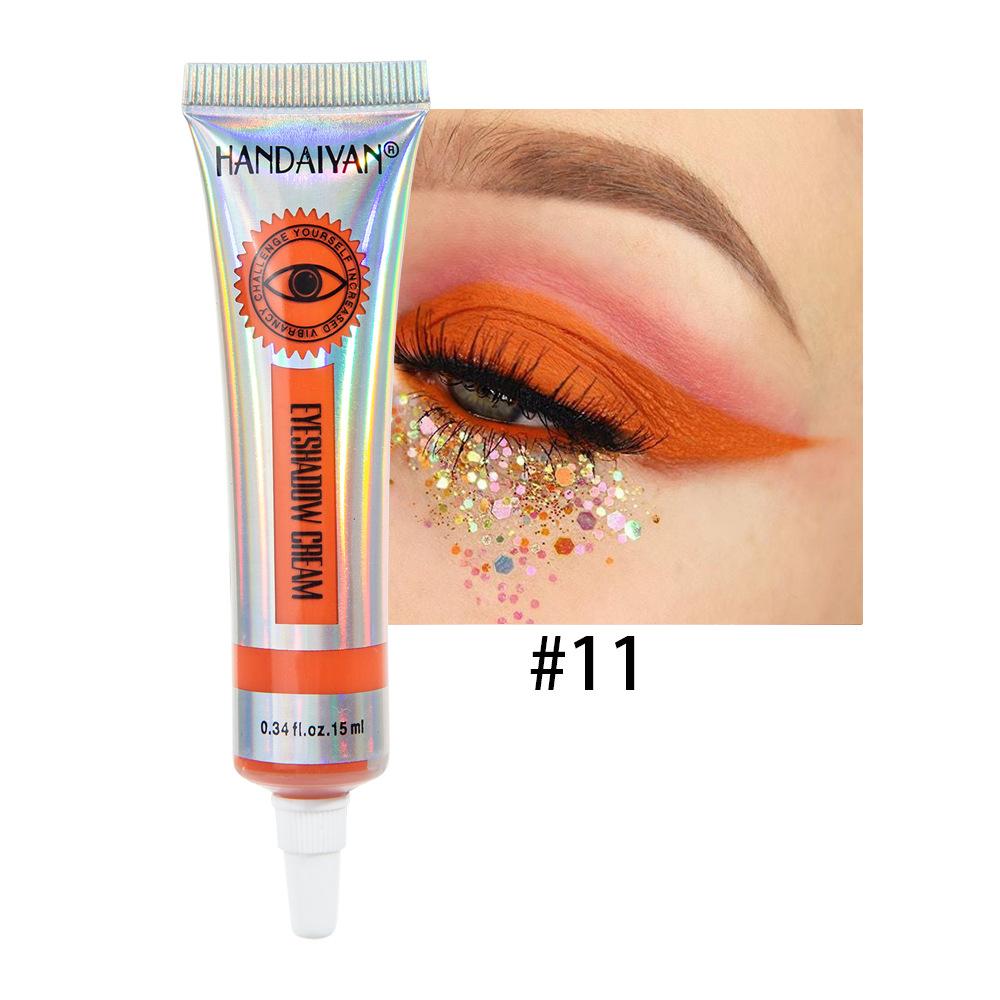 Universal 12 Colors Matte Eyeshadow Lasting Eye Shadow Cream for Women 11#