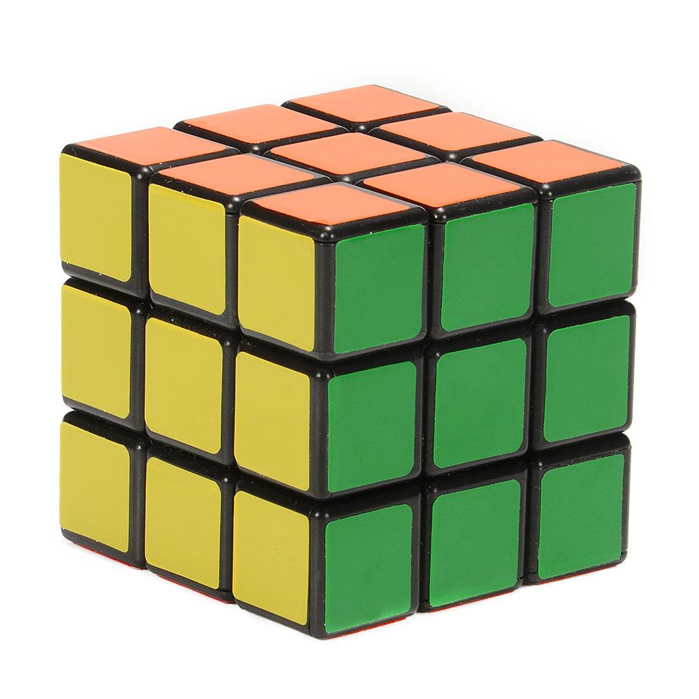 Ghost Hand Dancing Finger II version Magic Cube 3x3x3 Brain Teaser Toy Black