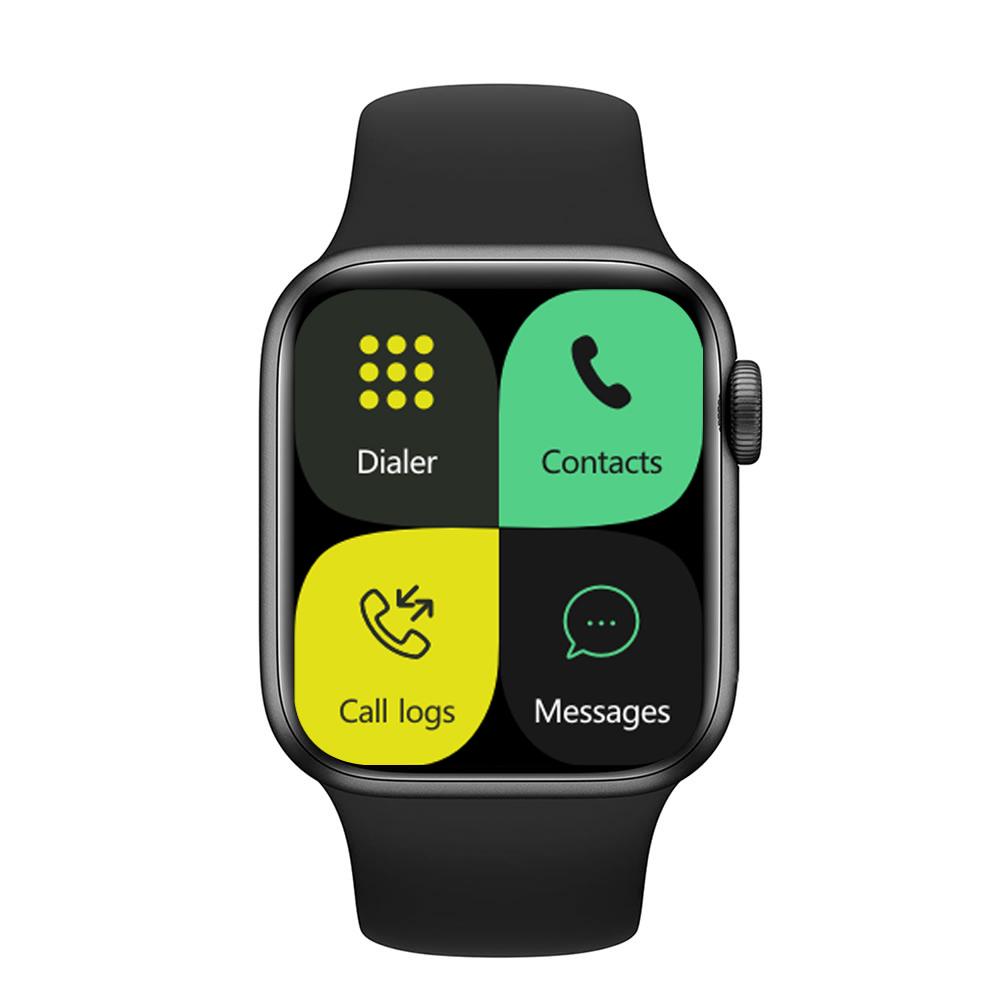 Iwo 13pro Smart Bracelet Outdoor Sports Health Monitor Full Touch Screen Smartwatch black