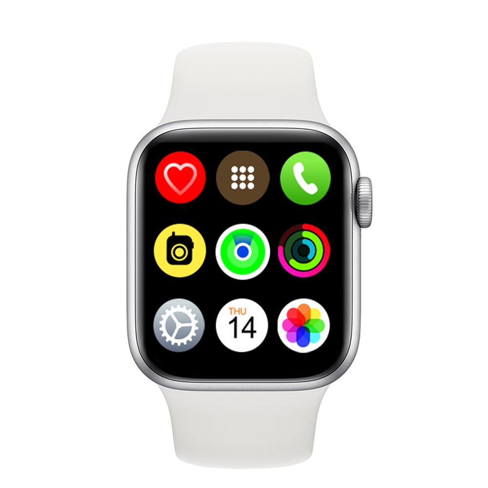 Iwo 13pro Smart Bracelet Outdoor Sports Health Monitor Full Touch Screen Smartwatch white
