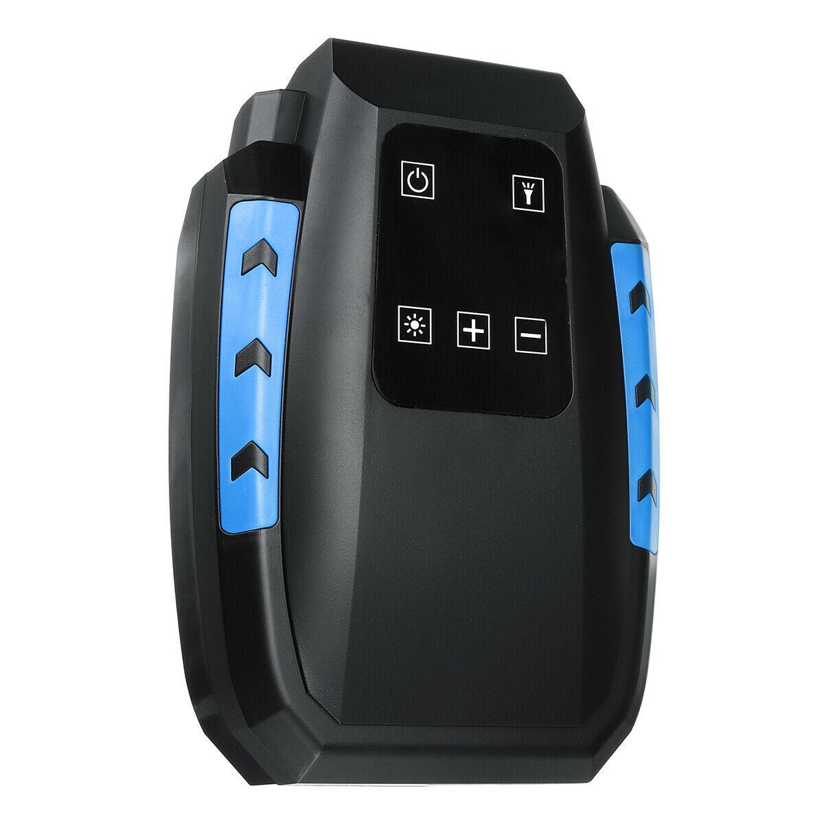 Digital Tire Inflator Car Portable Air Compressor Pump DC 12V LED Light Car Air Pump Digital display
