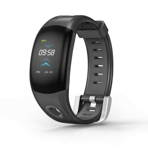 DM11 Waterproof Smart Bracelet Watch Rechargeable Long Lasting G-sensor Sports Bluetooth Fitness Tracker black