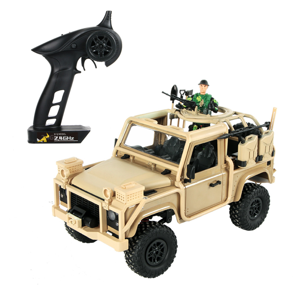 MN Model MN96 1/12 2.4G 4WD Proportional Control Rc Car with LED Light Climbing Off-Road Truck RTR Toys