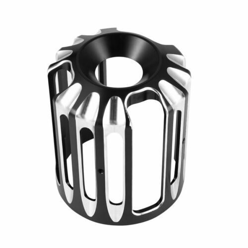Oil Filter Cover Aluminum Alloy  For  Sportster Motorcycles black_Old type