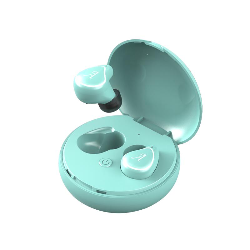 A4-TWS Wireless Bluetooth Headphone Wireless Stereo Music HI-FI CD Sound Quality Headset blue