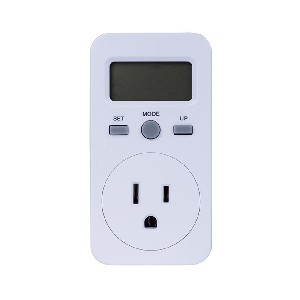 Digital  Energy  Meter Lcd Display Power Monitor Meter Electricity Test Measuring Socket US Plug