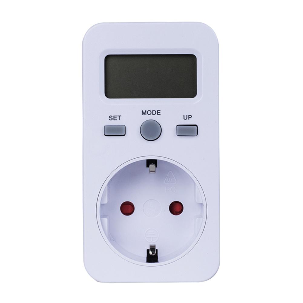 Digital  Energy  Meter Lcd Display Power Monitor Meter Electricity Test Measuring Socket EU Plug