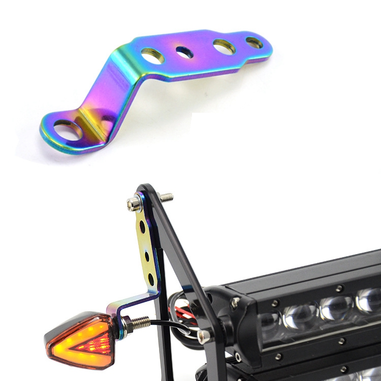 Motorcycle Headlight Bracket Modified  Headlight Frame Rearview Mirror Spotlights Multi-function Support As shown