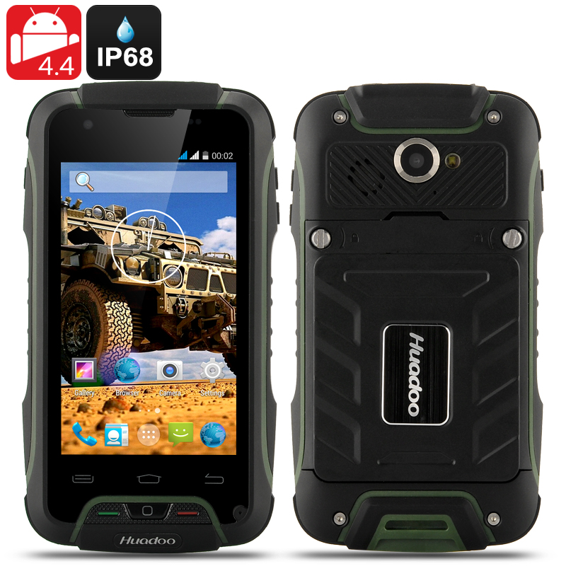 Huadoo V3 Rugged Smartphone (Green)