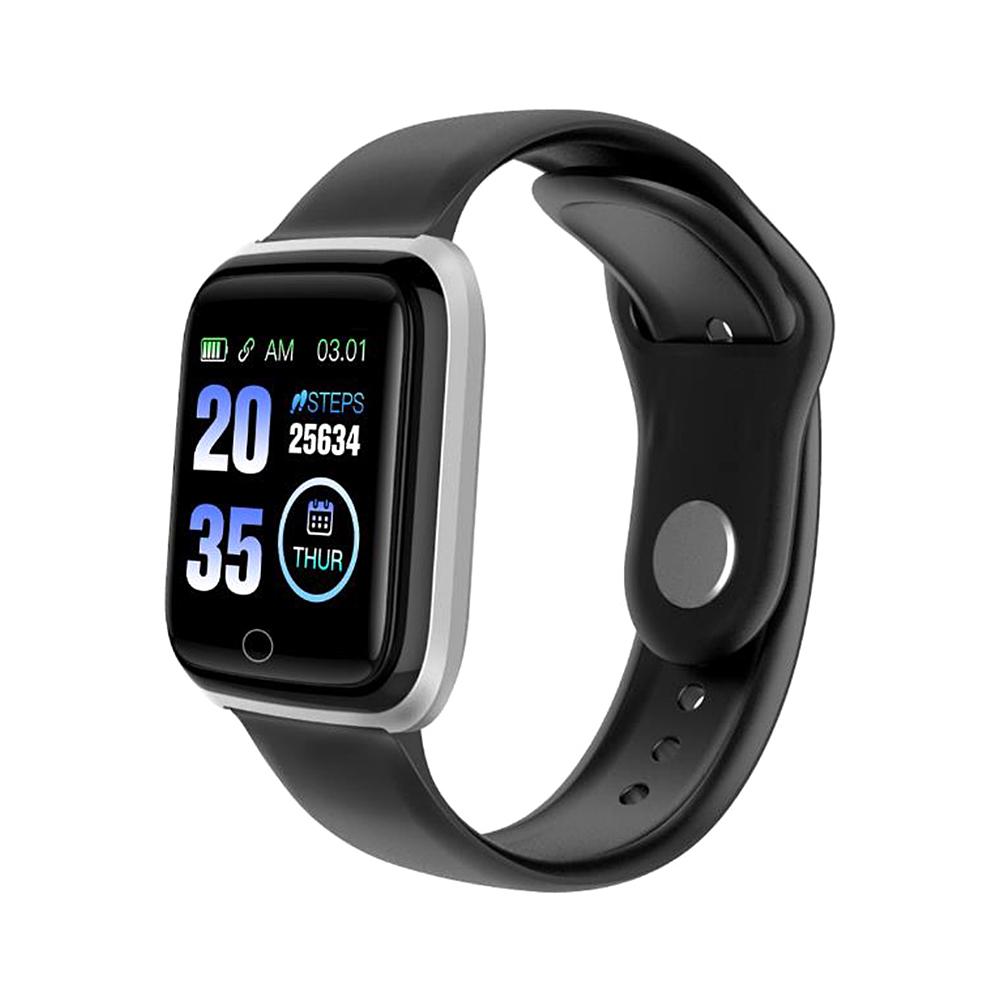 M6 Smart Band Watch Colorful Screen Fitness Tracker Waterproof Sport Passometer Bluetooth Wristband  Black