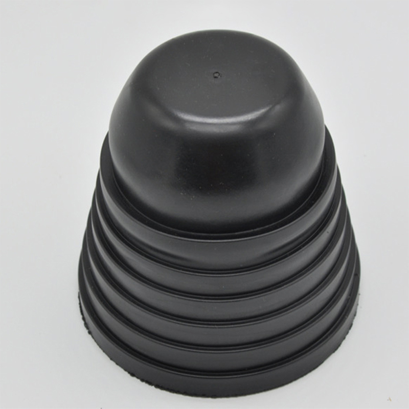 Rubber Housing Seal Cap Dust Cover for Universal Car LED HID Headlight  black