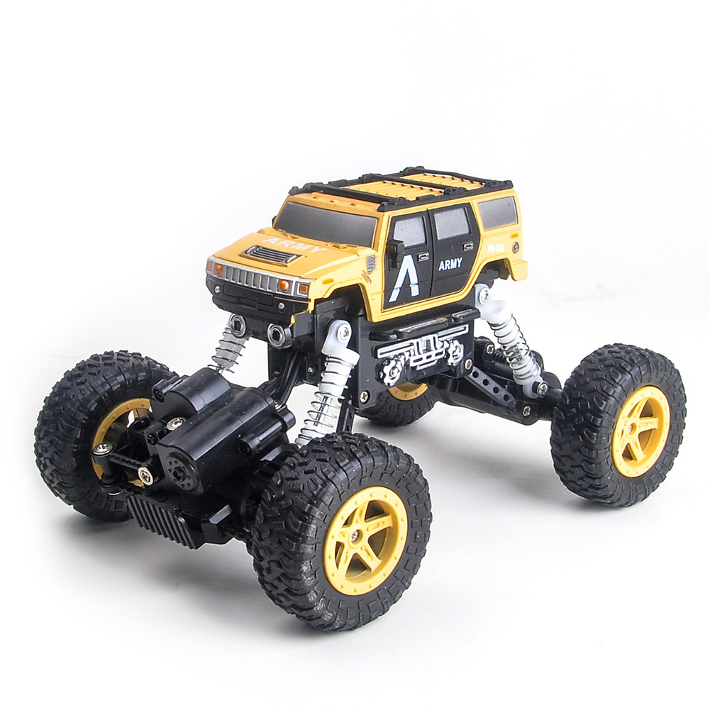 1:22 High Speed RC Climbling Car with Remote Control for Kids Toy Yellow + black_1:22