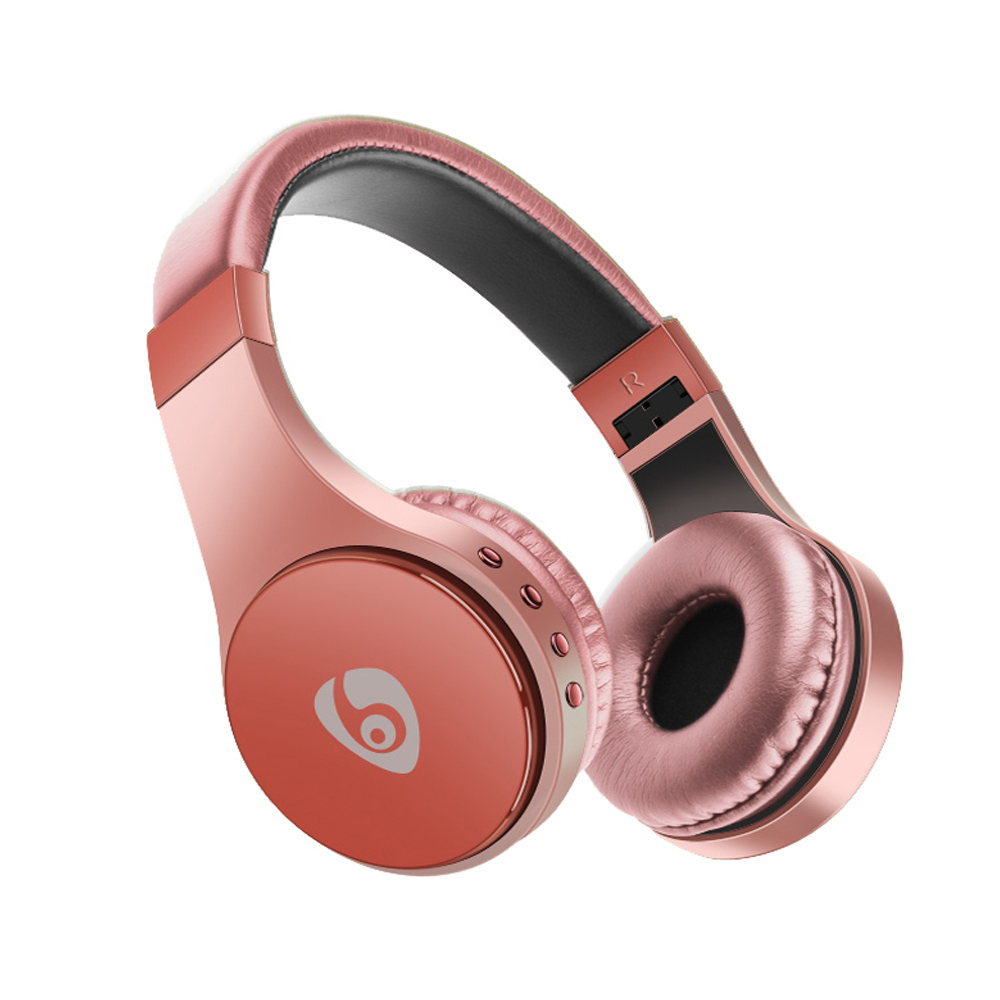 Original OVLENG S55 Wireless Headset Rose Gold