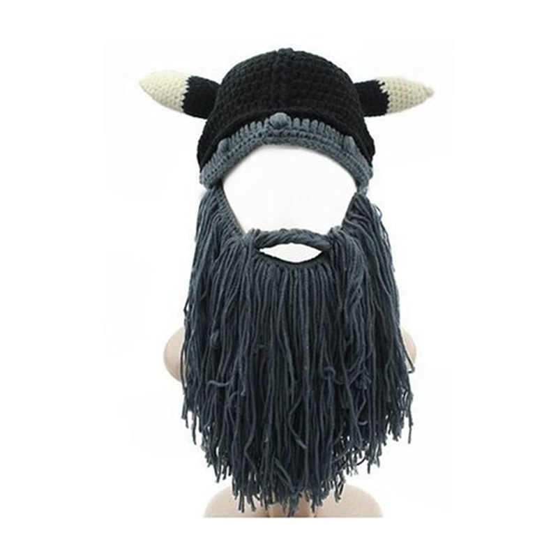 Original Barbarian Pillager Knit Black Beard