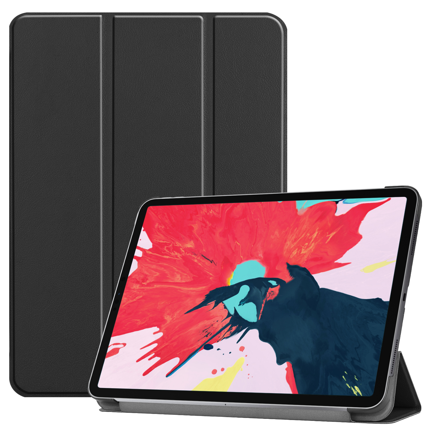 Tablet PC Protective Case Ultra-thin Smart Cover for iPad pro 11(2020) black