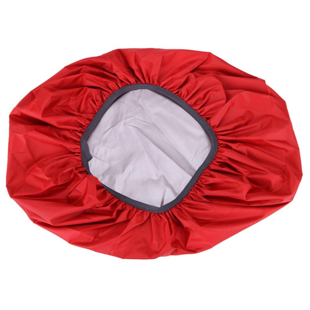 Waterproof Backpack Rain Cover Portable Ultralight Shoulder Bag Dustproof  Protect Outdoor Hiking Tools Big red_70 liters (XL)