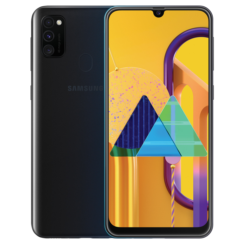 Samsung Galaxy M30S Mobile Phone Black_6+128G