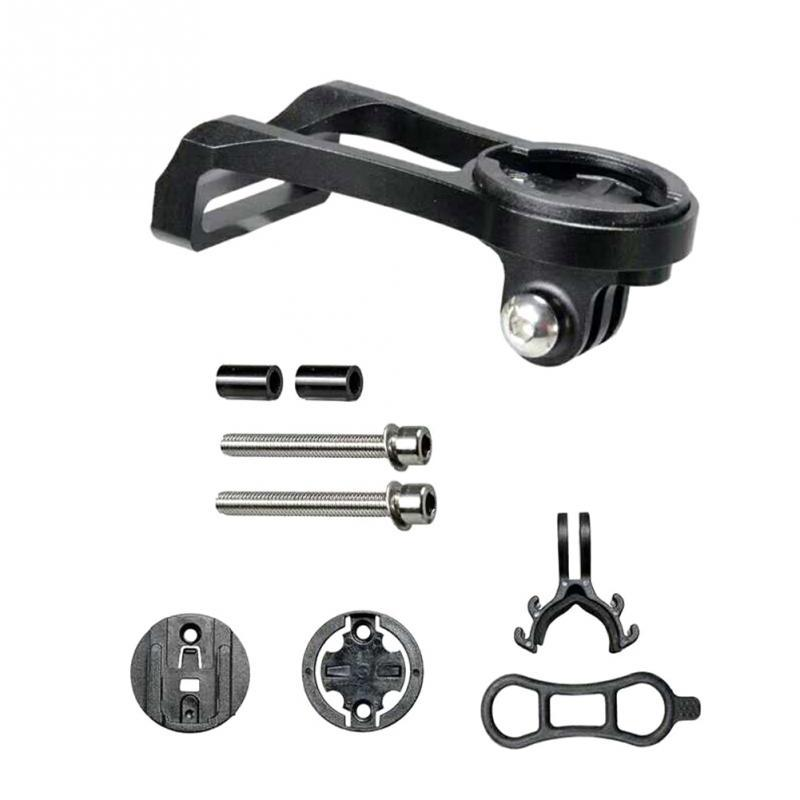 Bicycle Speed Meter Bracket Aluminium Alloy Speed Meter Expand Bracket black