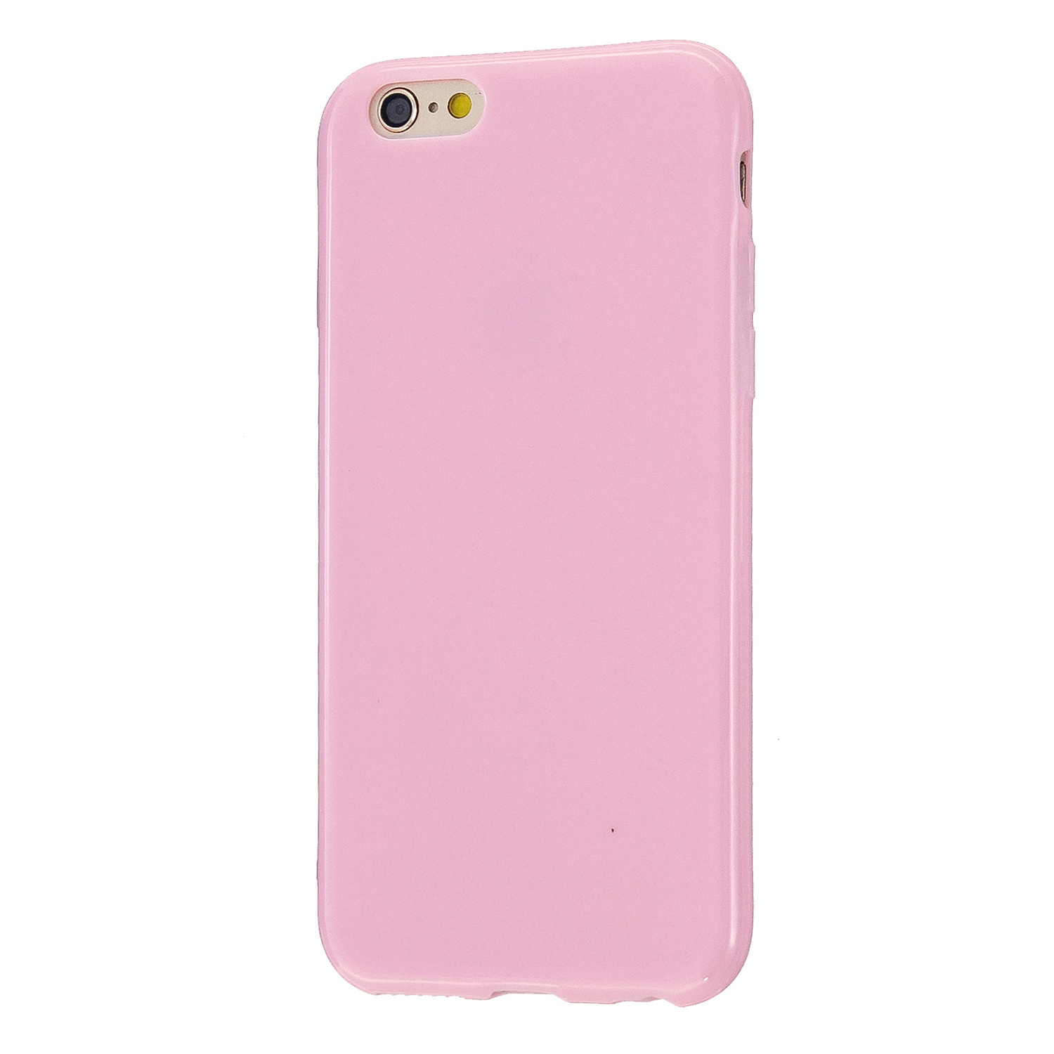 For iPhone 5/5S/SE/6/6S/6 Plus/6S Plus/7/8/7 Plus/8 Plus Cellphone Cover Soft TPU Bumper Protector Phone Shell Rose pink