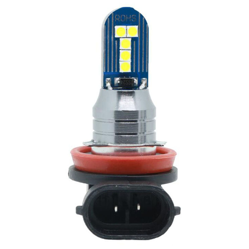 LED Light bulb H11 H7  H16 Auto Motorcycle Headlight Car LED light Bulbs Styling  white_H11