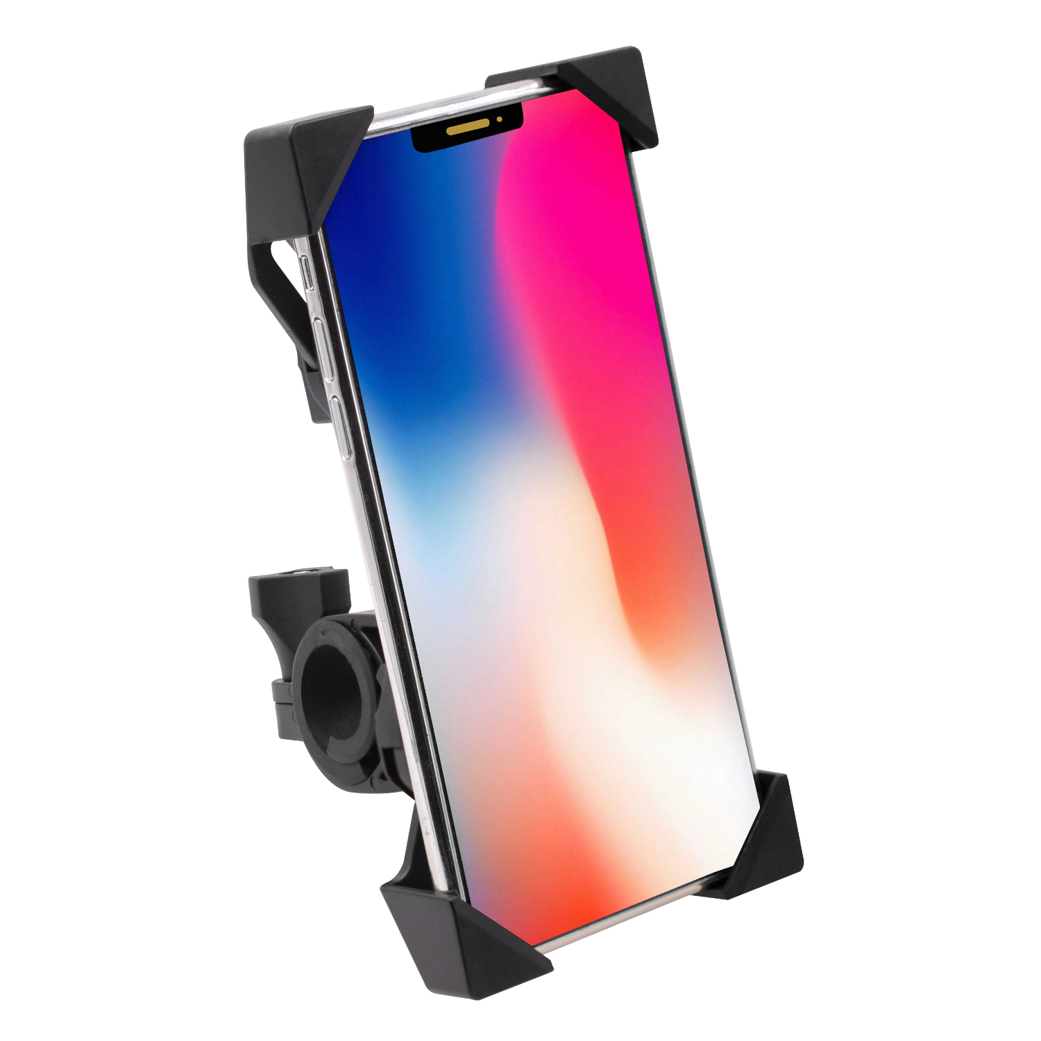 Motorcycle Mobile Phone Holder Electric Bicycle Riding Navigation One-key Shrinking Mobile Phone Holder Motorcycle handle type