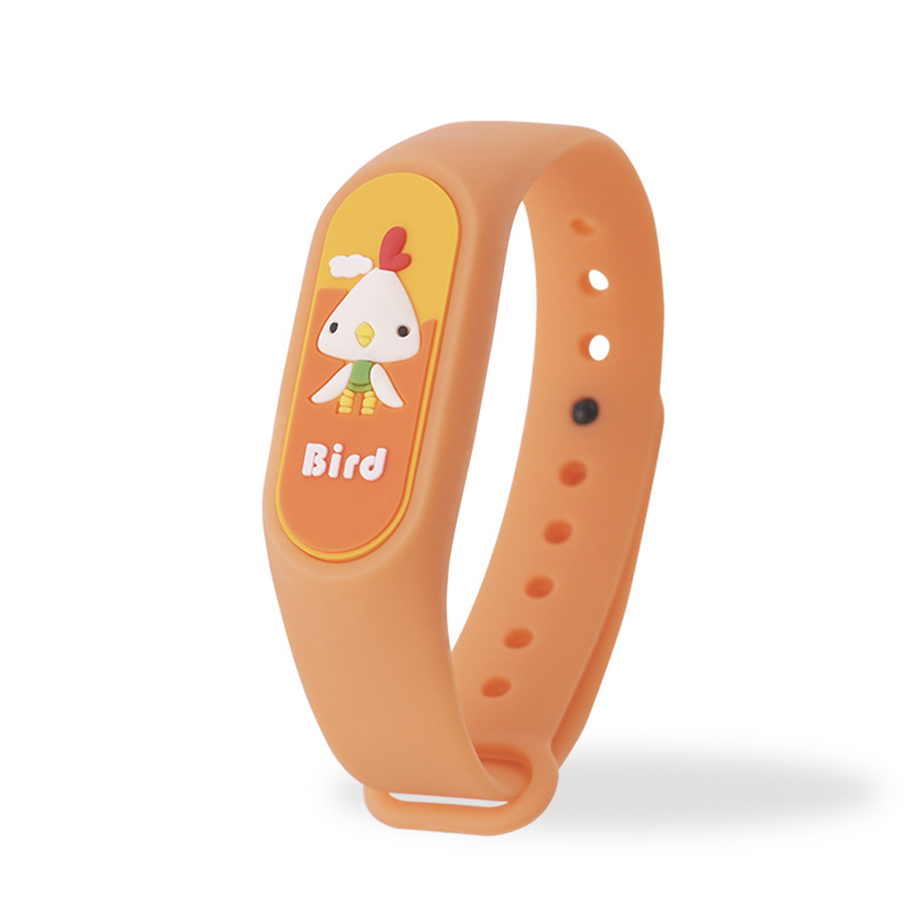 Kids Anti Mosquito Bracelet Cartoon Insect Prevention Safety Silicone Bracelet 5