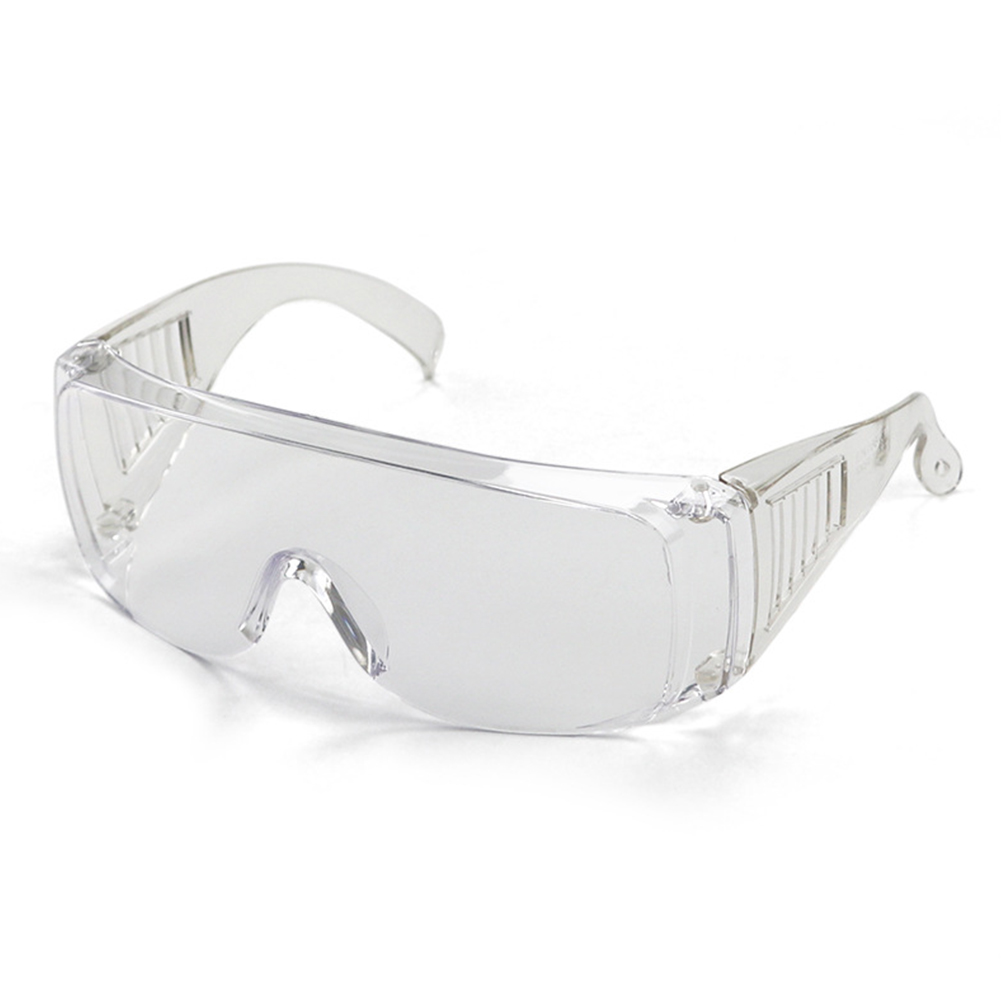 Goggles Anti Impact Men Women Dust-Proof Wind-Sand-Proof Dark Transparent Protective Glasses