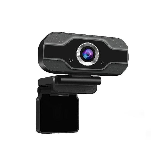HD Webcam Built-in Dual Mics 1080P Smart Web Camera USB Camera for Desktop Laptops PC Game Cam As shown