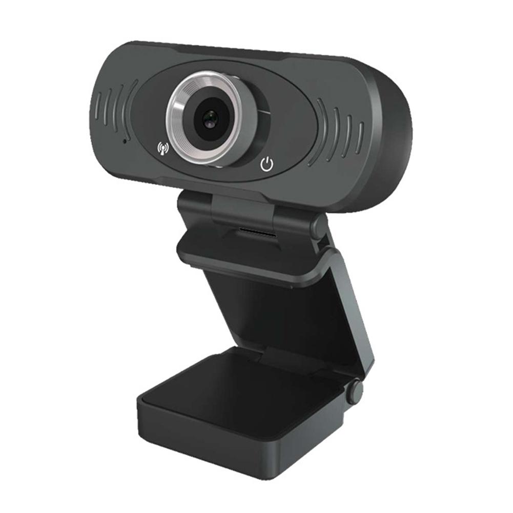 USB Webcam 1080P HD Web Cam Clip-on Computer PC Laptop Desktop black