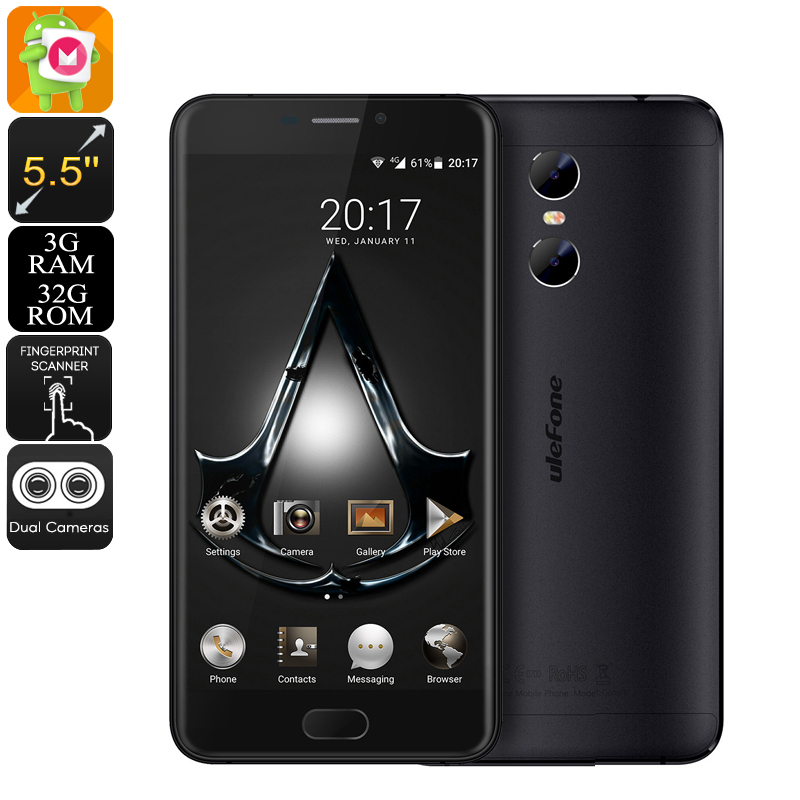 Ulefone Gemini Android Phone (Black)