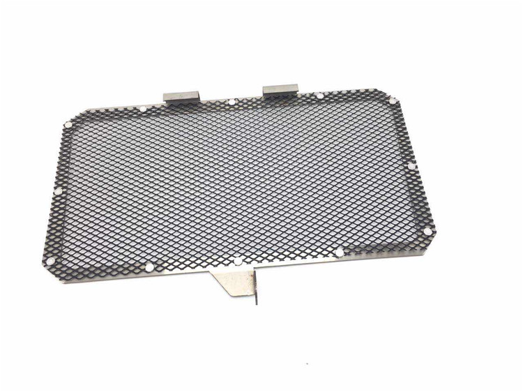 Motorcycle Aluminium Radiator Side Protective Guard Grill Cover Protector for Yamaha YZF R3 black