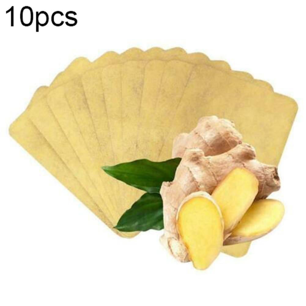 10/30/50PCS Herbal Ginger Transdermal Patch 10 pieces