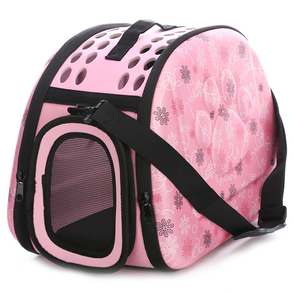 Portable Pet Handbag Carrier Comfortable Travel Carry Bags For Cat Dog Puppy Small Animals  Pink_Medium 42 * 28 * 30