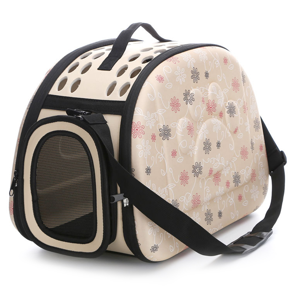 Portable Pet Handbag Carrier Comfortable Travel Carry Bags For Cat Dog Puppy Small Animals  apricot_Medium 42 * 28 * 30