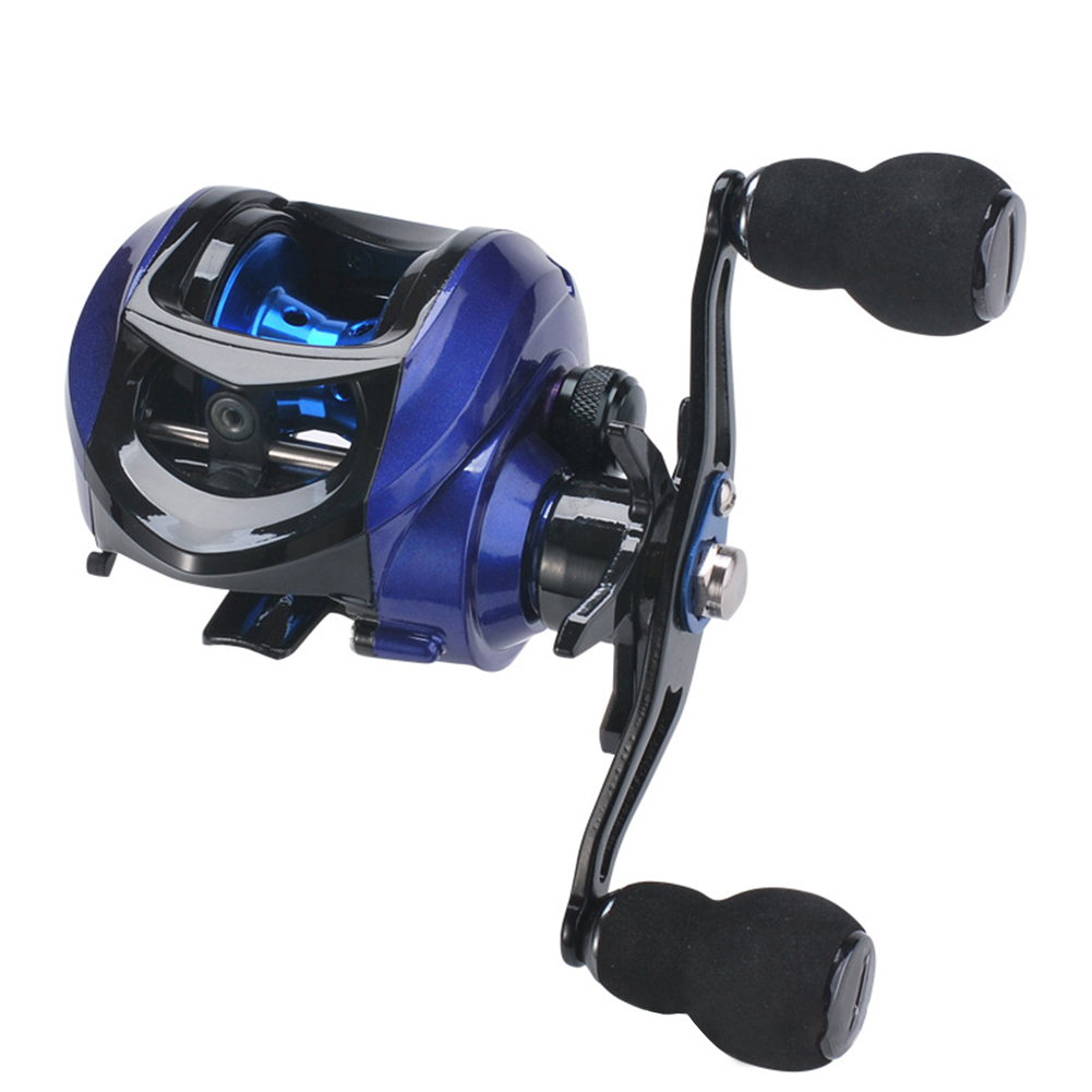 Left/Right-handed Long Throw Full Metal Fish Wheel Full High-speed Ratio 7.2:1 Professional Water Drop Fishing Wheel LK201 right hand