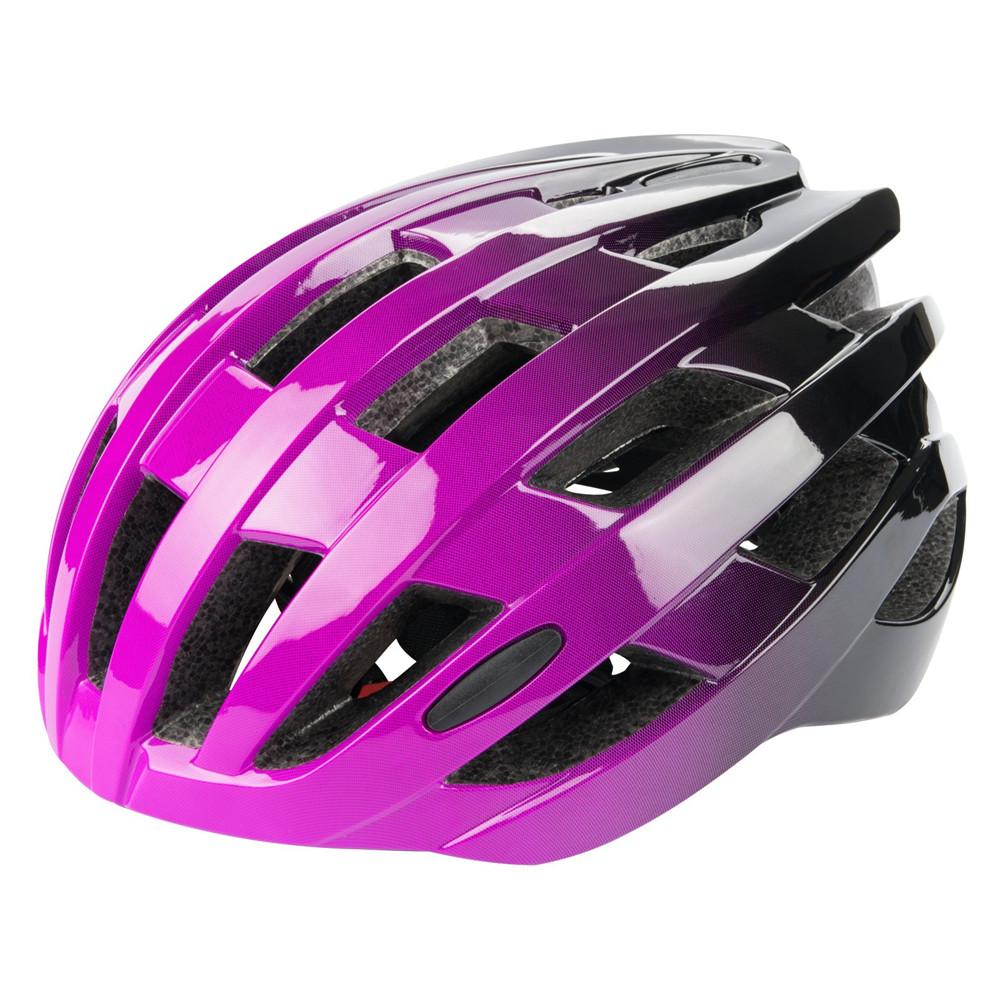 Riding  Helmet EPS Protective Helmet For Road Bike Bicycle Accessories Purple black