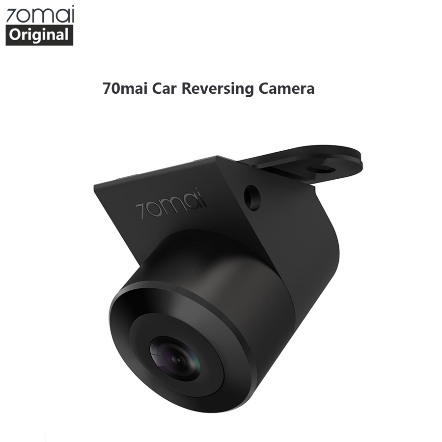 70mai Reverse Camera 70 mai Car Rear View Wide Rearview Cam Night Vision IPX7 Wide Angle Auto Reversing Double Record black