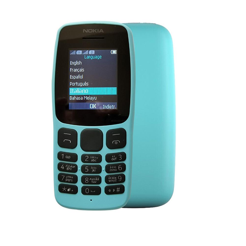 1062G Mobile Phone Dual Sim 1-8 Inches Large Hd Screen Phone blue