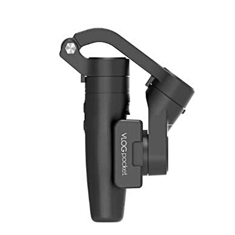 Handheld Vlog Phone Holder MINI 3-Axis Smartphone Gimbal Stabilizer for  Mainstream Mobile Phone black
