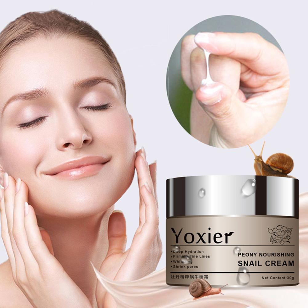30g Moisturizing Cream Anti-wrinkle Hyaluronic Acid Essence Cream Snail cream 30g
