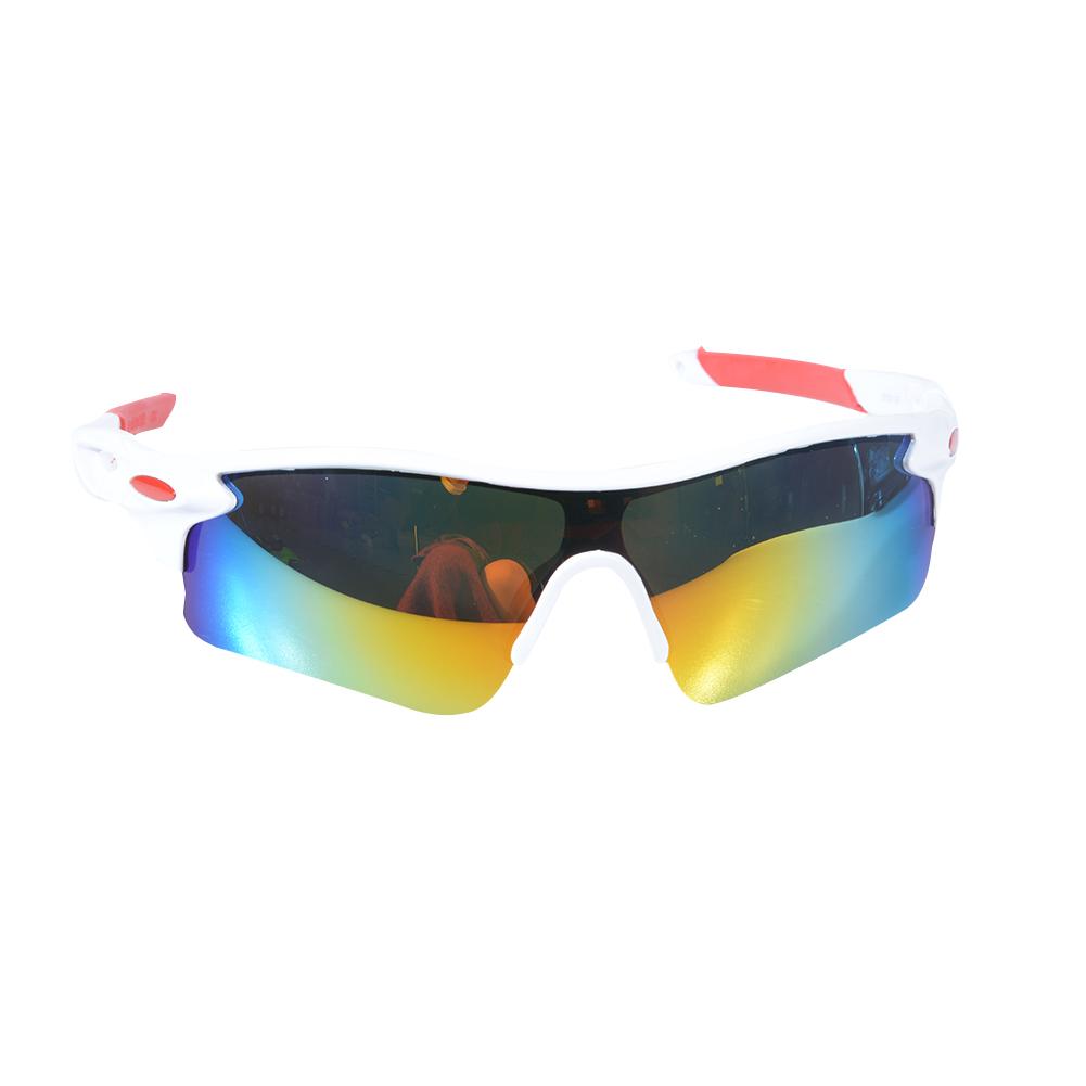 Men Women Sun Glasses Retro Mirror Vintage Style Shades Sport Cycling Goggles Glasses White iris