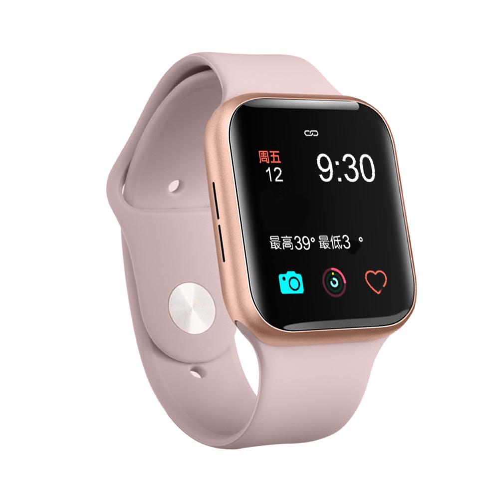 S8 Smart Watch Fitness Tracker Heart Rate Waterproof Sleep Monitoring Sports Watch Pink