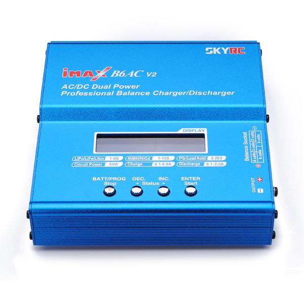 SKYRC iMAX B6AC V2 Professional Balance Charger/Discharger SK-100090 European regulations