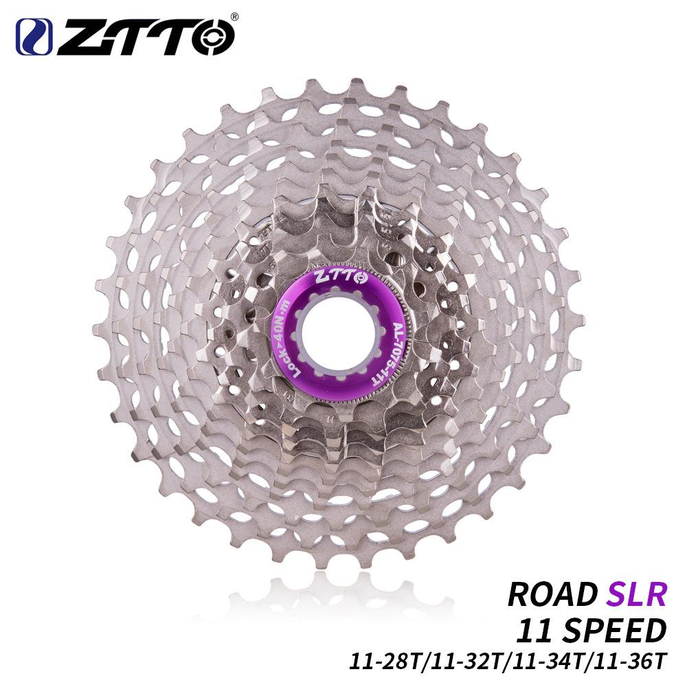 ZTTO CNC Road Bike 11 Speed 11-11-28T / 32T / 34T / 36T Bicycle Cassette Flywheel Bike Ultralight Freewheel Flywheel 11-speed 11-36T